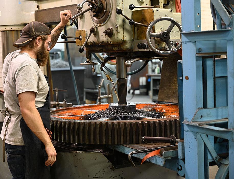 machinist_drilling